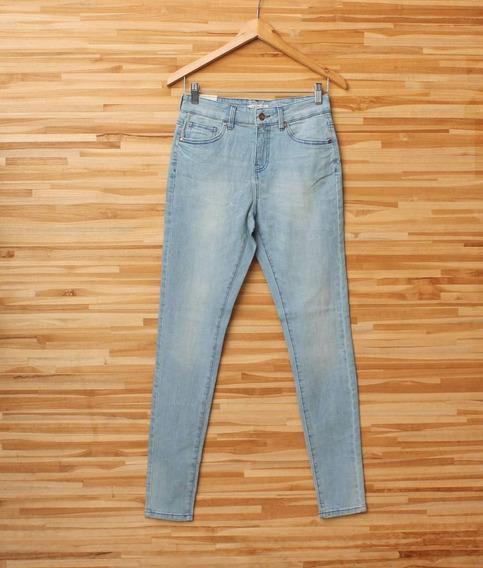Calça Jeans Lavagem Clara Forever 21 Nova Skinny Tam 27/38