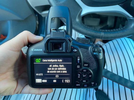 Câmera Profissional Cânon Rebel T6 Lente 18-55
