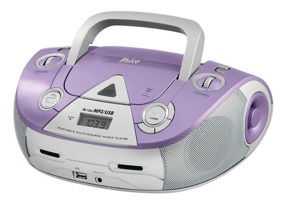 Rádio Philco Pb126l Fm Usb Cd