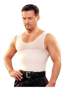 Camiseta Modeladora Hombre Promo 2 X 1 Unica Con Power Net