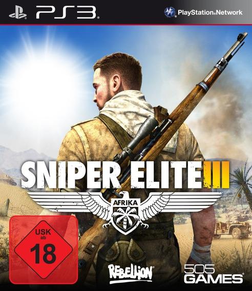 Sniper Elite 3 Ps3 Psn Jogo Digital Envio Imediato