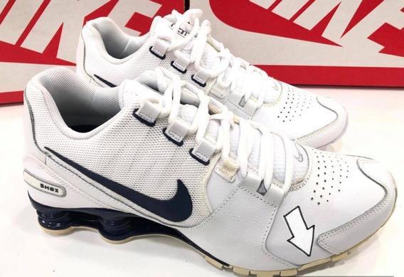 Oportunidade!!tênis Nike Shox Avenue 833584-104. Peq.defeito