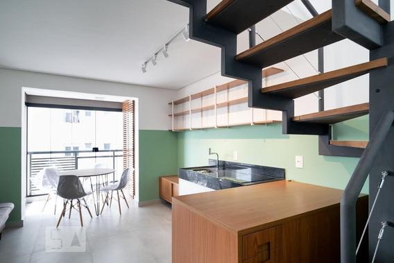 Apartamento Para Aluguel - Brooklin, 1 Quarto, 65 - 893122467