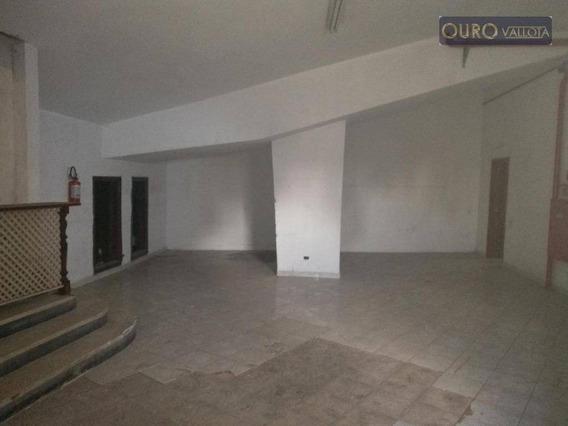 Salão Comercial Na Mooca Para Locação - Sl0106