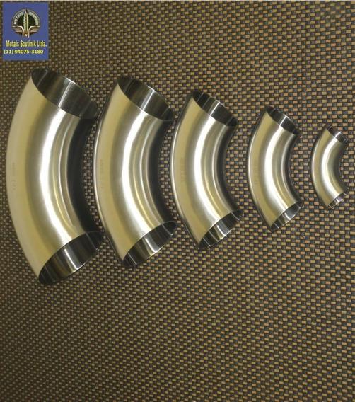 10 Curvas 3 Pol 90º(76,20mm X 1,50) Inox 304 Polido