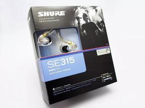 Vendo Fone Shure Se315 Air Usado 1 Mes Original Garantia 2