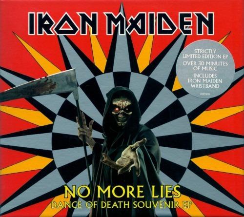 Iron Maiden Box No More Lies Promo Single Cd Raro Colecao