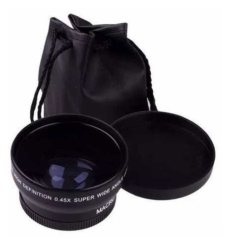 Lente Grande Angular Wide 0.45x + Macro Nikon Af-s 18-55mm