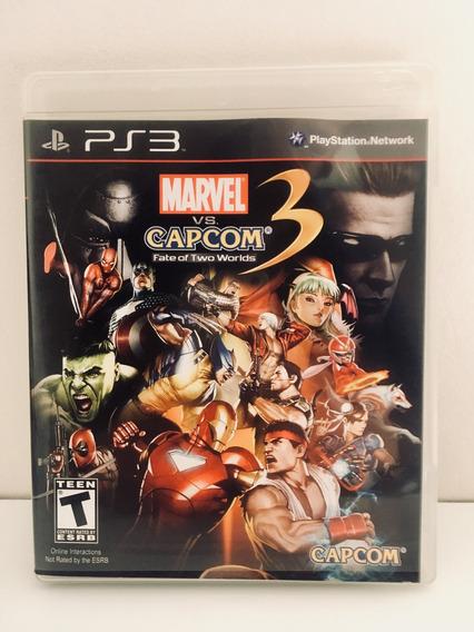 Marvel Vs Capcom Fate Of Two Worlds 3 Jogo Ps3