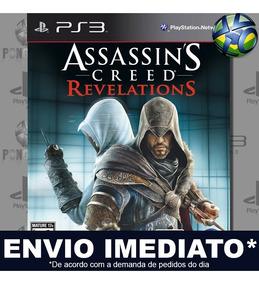 Assassins Creed Revelations Ps3 Legendas Código Psn Promoção