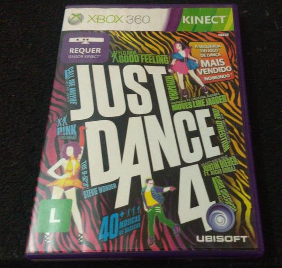 Just Dance 4 - Xbox 360 - Mídia Física (usado)