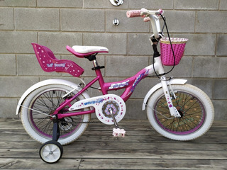 Bicicleta Nena Rod 16 Marca Raleigh
