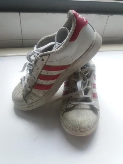 Zapatillas adidas Superstar Niña Talle 32