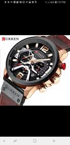 Top Marca De Luxo Curren Mens Relógios Couro Sports Watch Ho