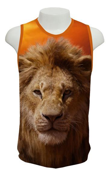 Camiseta Filme Rei Leão Simba - Ml01 - Regata