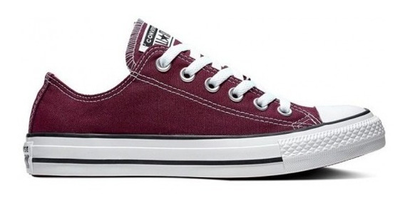 Converse Lona Bordó Chuck Taylor All Star Ox