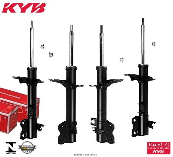 4 Amortecedores Kayaba Nissan X-trail T30 01/07