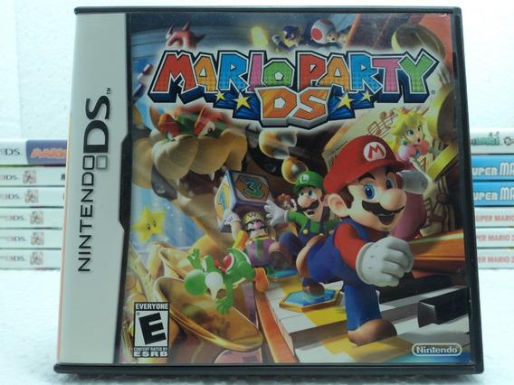 Mario Party Ds - Nintendo Ds - 12x Sem Juros Aproveite!!!