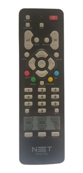 Controle Remoto Net Digital Hd Garantia E Nota Fiscal