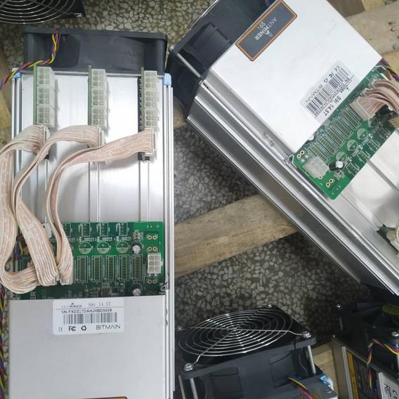 Mineros Antminer S9 De 14.5th/s Con Fuente De Poder Y Cable