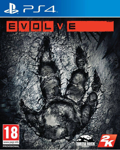 Evolve Ps4 Juego Blu-ray Original Físico Sellado En Stock