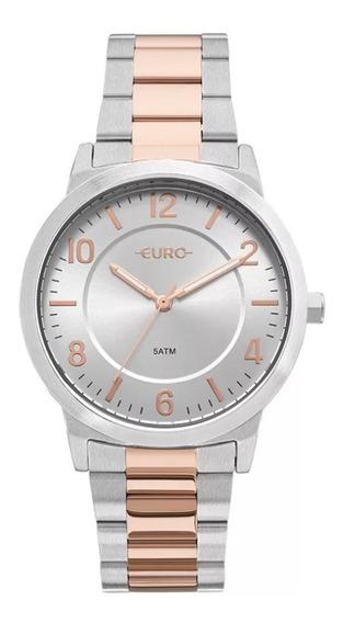 Relógio Feminino Euro Trendy Bicolor Eu2036ylw/5k Promoção