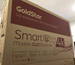 Smart Tv Goldstar 55 4k Youtube Tda Netflix Sellado
