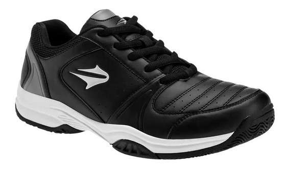 Zapatilla Topper Rod 52165 Negro Blanco Tennis Padel Dep