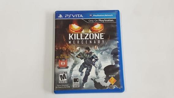 Jogo Killzone Mercenary - Jogo Em Japonês - Ps Vita