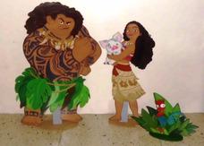 Alquiler De Figuras Mdf Y Decoración Moana
