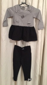 Conjunto De Calça E Blusa Para Menina 18 Meses