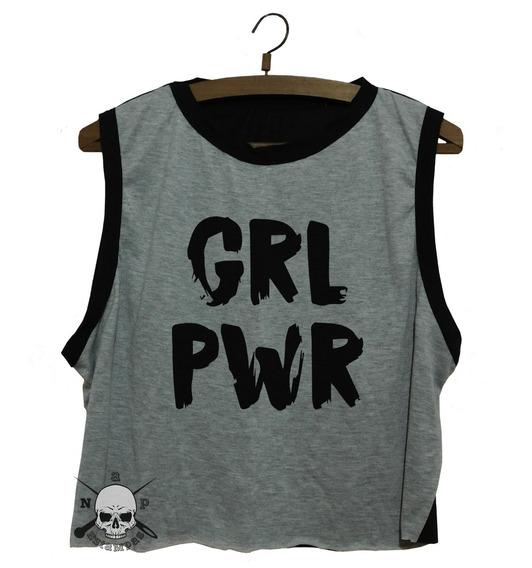 Sudaderas Mujer - Feminista #13 Girl Power - Grl Pwr