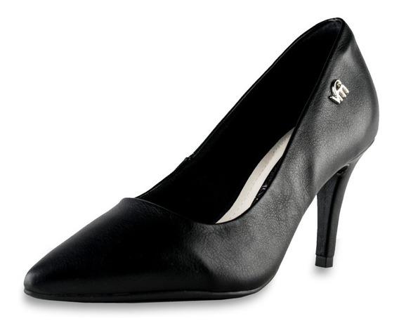 Zapatos Stilettos Mujer Cerrado Taco Alto Punta Fina Cómodo