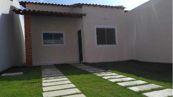 Casa De 2 Quartos, Sendo Uma Suite. Pronta P/financiamento