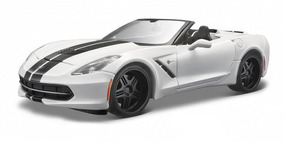 Corvette Stingray 2014 Maisto Design Branco 1/24