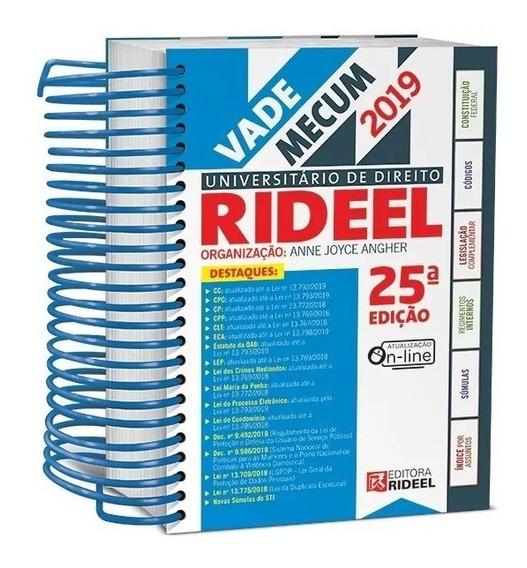 Vade Mecum Universitario Direito Rideel - 25ª Edição 2019