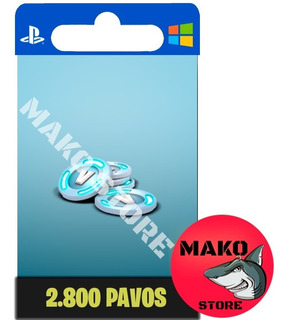 Fortnite 2800 Pavos (pc/xbox/ps4) Stock Siempre