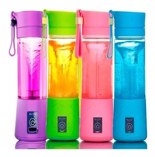 Mini Liquidificador Shake Vitaminas Usb Portátil Academia