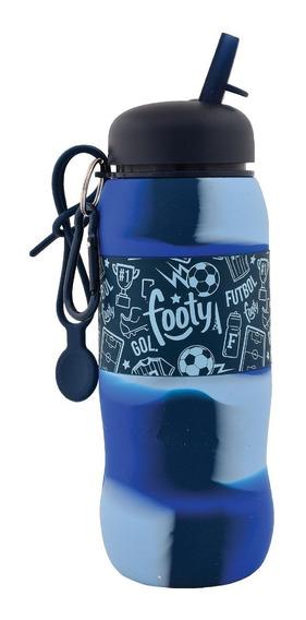Botella De Silicona Flexible Batik- Footy Oficial