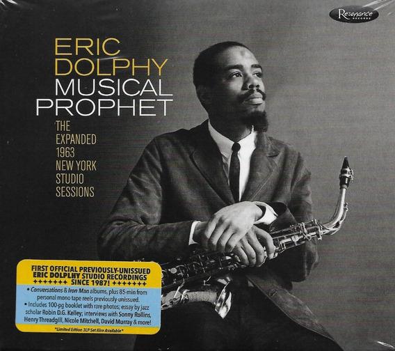 Cd Triplo Eric Dolphy - Musical Prophet - Novo - Lacrado