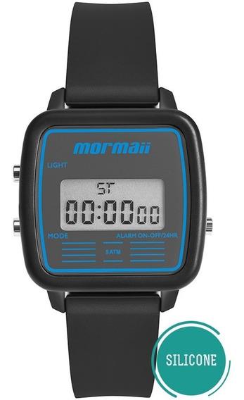 Relógio Mormaii Feminino Vintage Mojh02ba/8a Azul Digital Of