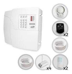 Kit Alarme Residencial Comercial Ppa 6 Sensores + Discadora
