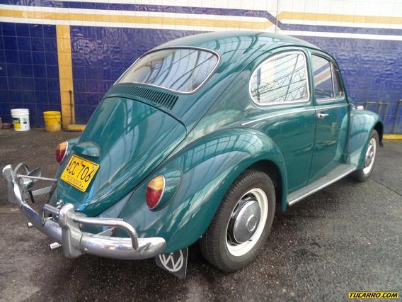 Volkswagen Escarabajo Escarabajo 1500cc