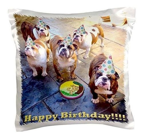 Edmond Hogge Jr Cumpleaños Cumpleaños  Bulldog Ingles  Funda