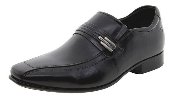 Sapato Masculino Social Preto Democrata - 131108