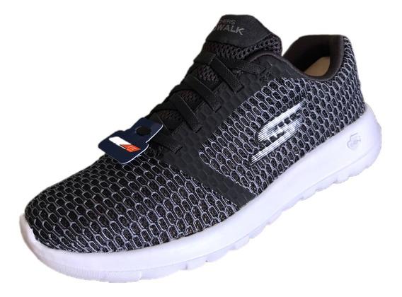 Tenis Skechers Hombre 54606x/bkw Go Walk Max Enhanced X