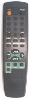 Control Remoto - Para Tv Crown Mustang Y Grundig Cr224.!!!