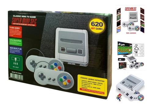 Consola Súper Mini Sfc 620 Juegos Estilo Super Nintendo