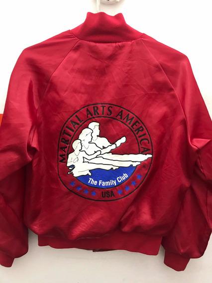 Campera Universitaria Martial Arts America Made In Usa