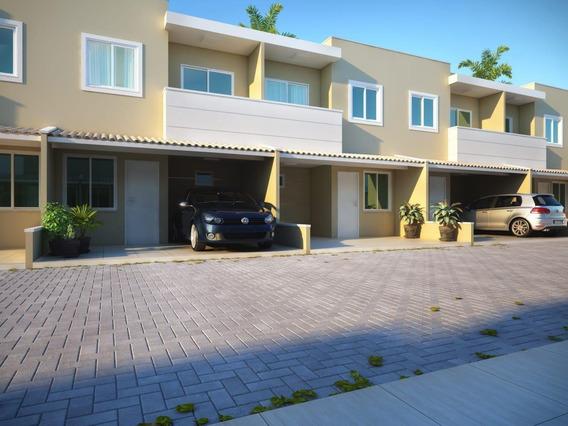 Casa Em Urucunema, Eusébio/ce De 64m² 2 Quartos À Venda Por R$ 149.950,00 - Ca195365